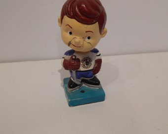 Vintage 1979's WHA Cleveland Crusaders Nodder Bobble Head Doll Rare