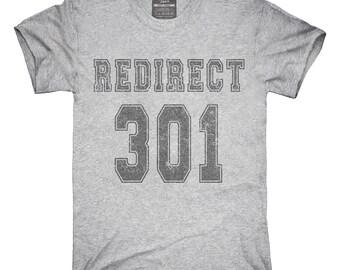 301 Redirect T-Shirt, Hoodie, Tank Top, Sleeveless