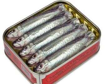 Chocolate sardines  Unique and funny gift idea