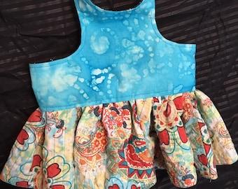 Reversible Jean / Batik Sundress