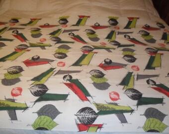 1960,s Bark Cloth