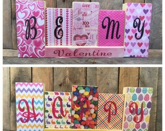 Decorative Wood Block Sign - Valentines Day/Easter