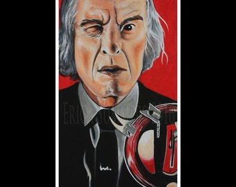 """PHANTASM 11x14"""" LIMITED EDITION Numbered Horror Icon Collection Print"""