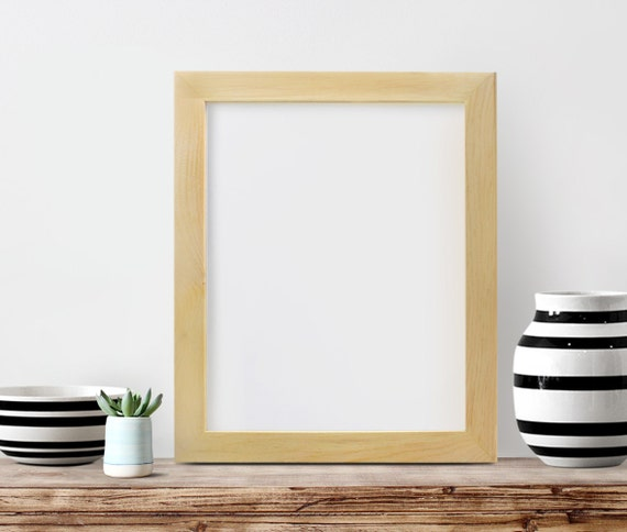 16x20x2 picture frame unfinished wood frame by