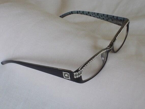 68d825c2f0 Swarovski Crystal Reading Glasses 1.50 Lens Classic black