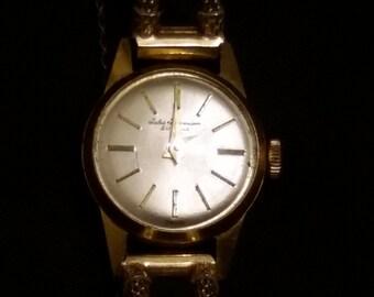 18k  yellow gold Jules Jurgensen Ladies wind-up watch