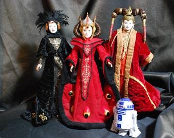 STAR WARS Padmè Amidala 3 Dolls