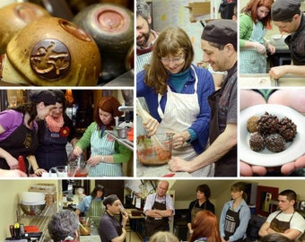 DOWN & DIRTY CHOCOLATE Class - Hands on with ganache and chocolate