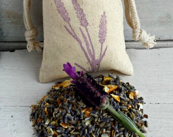Lavender Citrus Sachets, Aromatherapy Favor Sachets, Sachet Bags, Scented Sachets, Wedding Favor, Scented Drawer Sachets, Loose Herb Sachet