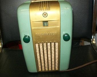 Vintage Westinghouse refridgerator radio