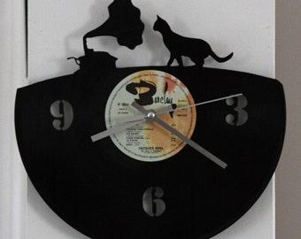 clock vinyl