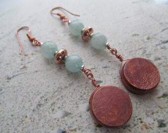 Copper, Hemimorphite and Silver