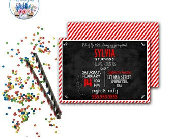 Olivia Party Invitation
