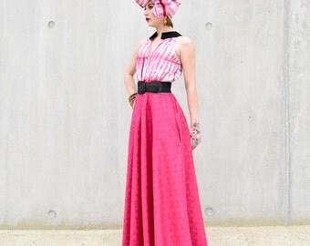 Awa Maxi dress- Pink