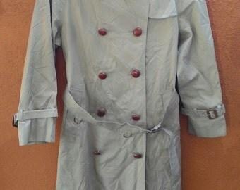 vintage aquascutum aqua 5 trench coat