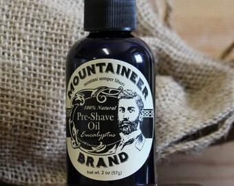 Pre-Shave Oil - Eucalyptus
