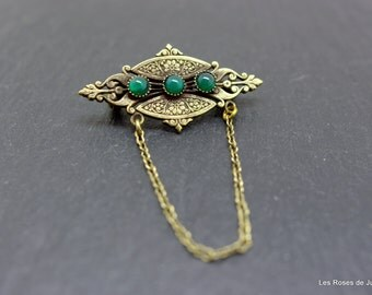 Art deco Brooch