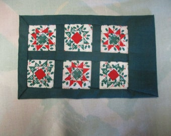 Alice Lacy Miniature Quilt 1987