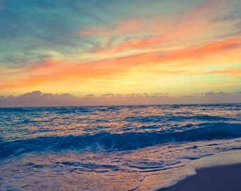 Colorful Sunrise at the Beach