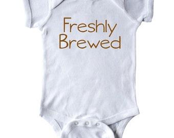 Freshly Brewed Infant Creeper by Inktastic