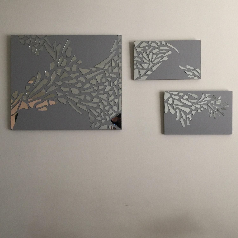 Artglass artshattered mirriorbroken for What to do with broken mirror pieces