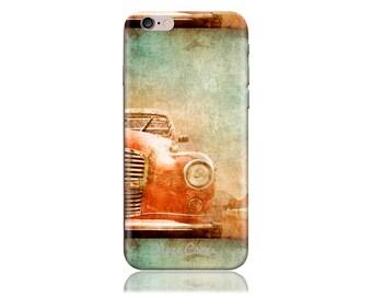 Galaxy S7 Case SS Vintage Ride Cool Design Hard Phone Case