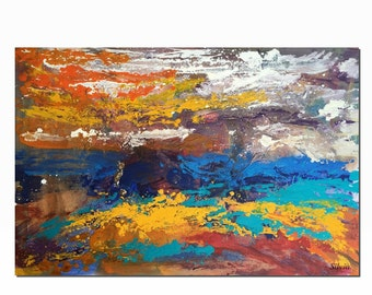 Original Painting, Large Abstract Art, Living Room Wall Art, Canvas Painting, Abstract Painting, Large Canvas Art, Wall Art, Large Painting