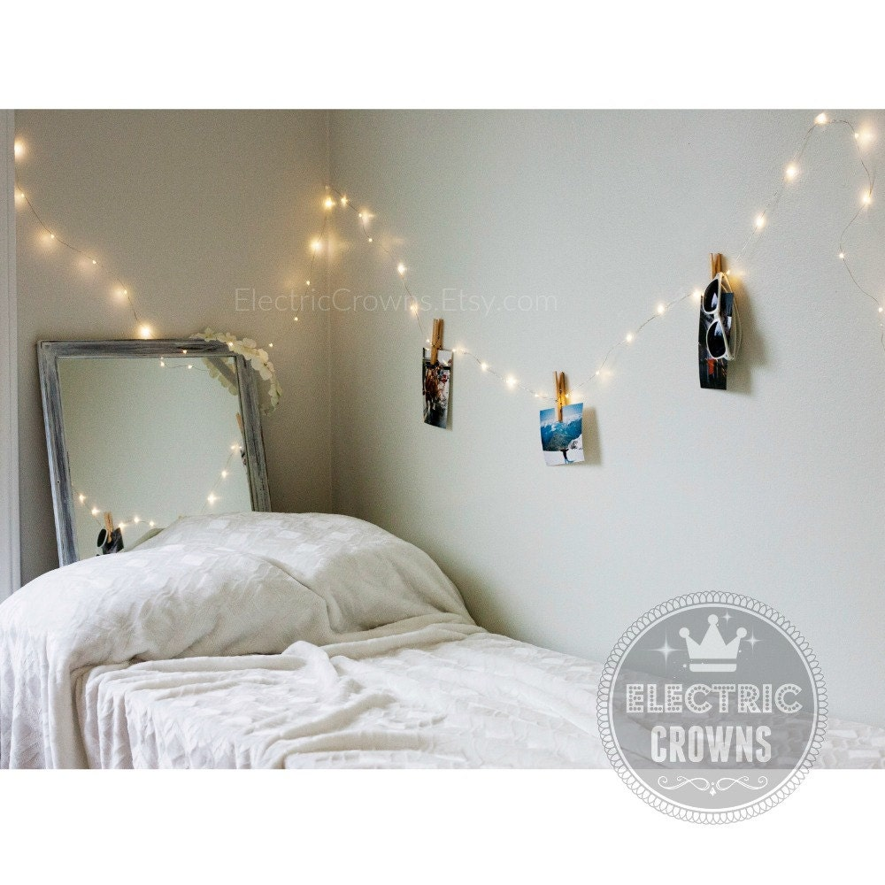 Bedroom wall string lights -  Bedroom Hanging Lights Indoor String Lights Home Decor Zoom