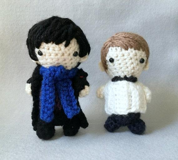 Wie Amigurumi Zusammennahen : ahnliche Artikel wie BBC Sherlock - inspired Crochet ...