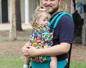 Cocoon Soft Structured Carrier Small 6-12kg, Baby Carrier, Geeky Carrier, Geeky Baby, SSC, Buckled Baby Carrier