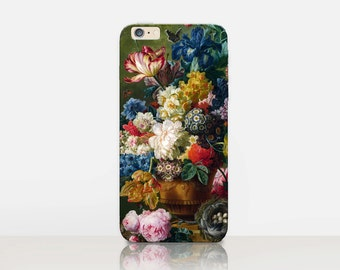 Floral iPhone SE Case For iPhone 8 iPhone 8 Plus - iPhone X - iPhone 7 Plus - iPhone 6 - iPhone 6S - iPhone SE - Samsung S8 - iPhone 5