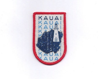 Vintage Hawaii Kauai Lighhouse Patch