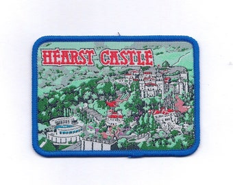 Vintage Hearst Castle Patch