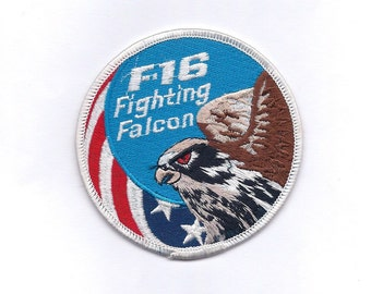 Vintage F-16 Fighting Falcon Air Force Patch
