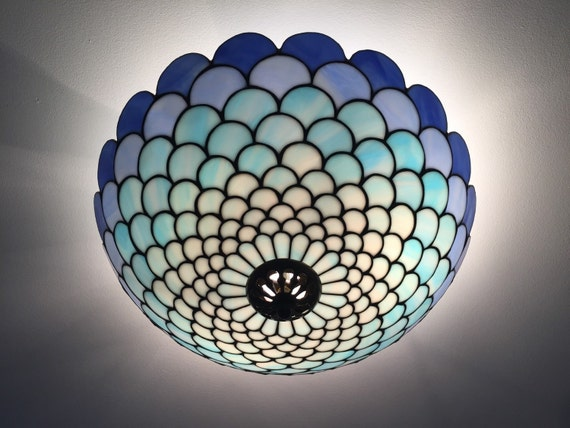 Art Deco Lamp, Ceiling Light, Ceiling Lamp Shade, Ceiling Lighting, Ceiling Lamp, Stained Glass Art, Stained Glass Table Lamp, Lamp Shade