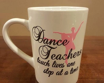 Dance Teacher Personalized Cup