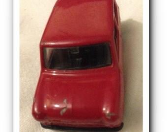 Vintage Corgi Juniors : Die-cast Red Mini - Used Condition #AB29