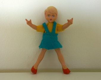 1960s Schleich Doll Bendable