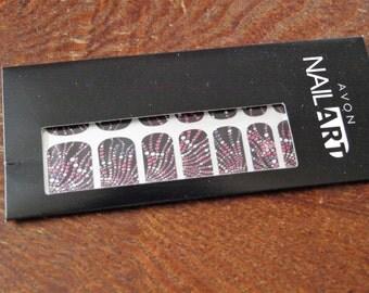 Avon Nail Art Nail Wraps