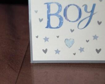 Baby Boy Gift Tag