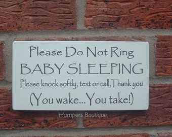 please do not ring plaque