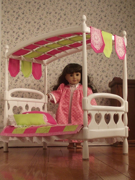 American Girl Half Canopy Bed American Girl Doll Canopy Bed Www Imgkid Com The Image