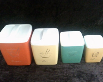 Harlequin Canisters Set Nally Set of 4