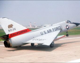 24x36 Poster . F-106A Delta Dart California Air National Guard 1980