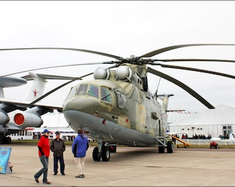 24x36 Poster . Mil Mi-26 Russian Soviet Helicopter