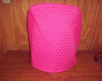 Hot pink kitchenaid mixer cover  6 qt.