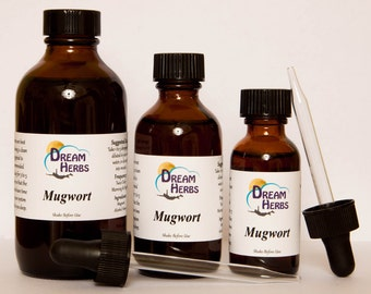 Mugwort: Lucid Dreaming Herbal Tincture