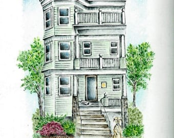 House Drawing / House Portrait
