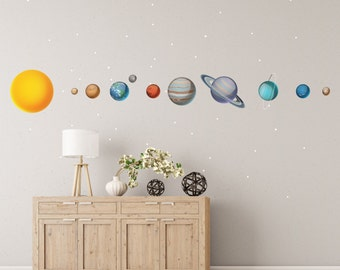 Solar System Wall Decals - WDSET10019