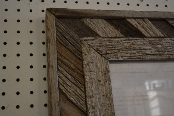 16 x 20 fancy barn wood picture frame. Black Bedroom Furniture Sets. Home Design Ideas